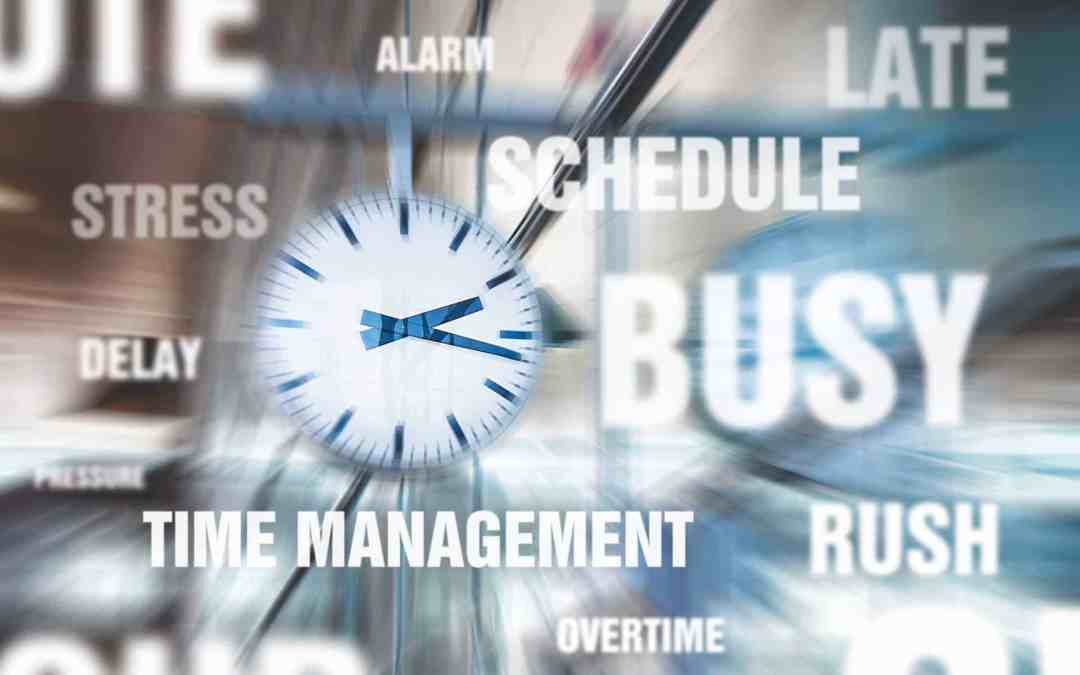 4 Great Tips for Time Management