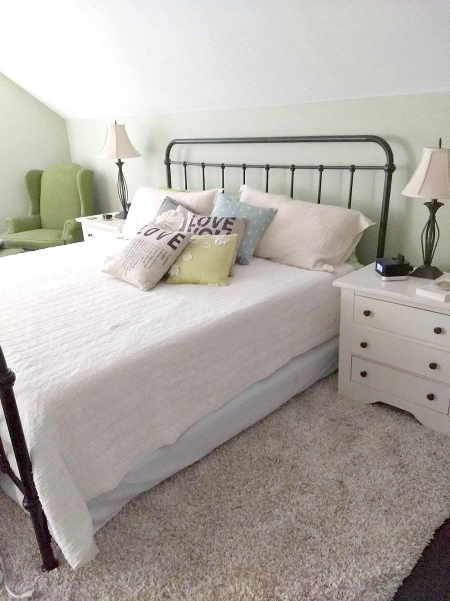 A NEW ROMANTIC MASTER BEDROOM ~ ooh lala