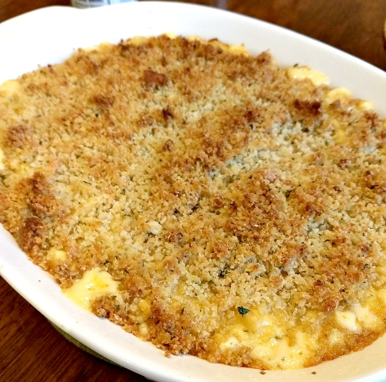 Homemade Baked Macaroni And Cheese Recipe Linda Home Is Where My Heart Is