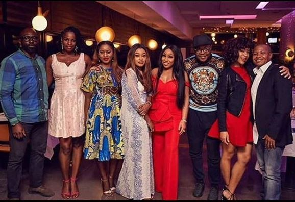 Photos from Rita Dominic's 43rd birthday dinner