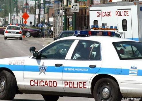 'In a space of14 hours, 44 people were shot and 5 of them diedon Sunday in Chicago' - Police
