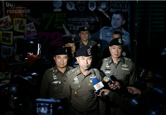 Police to investigate all Nigerians in Thailand over connection with criminal activities after arrest of 72 foreigners