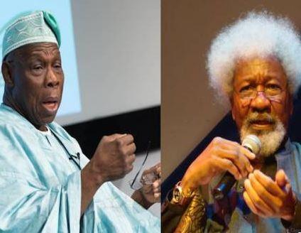 Wole Soyinka accuses Obasanjo ofawardingoil blocks in return for sexual gratification, calls him a 'degenerate liar'