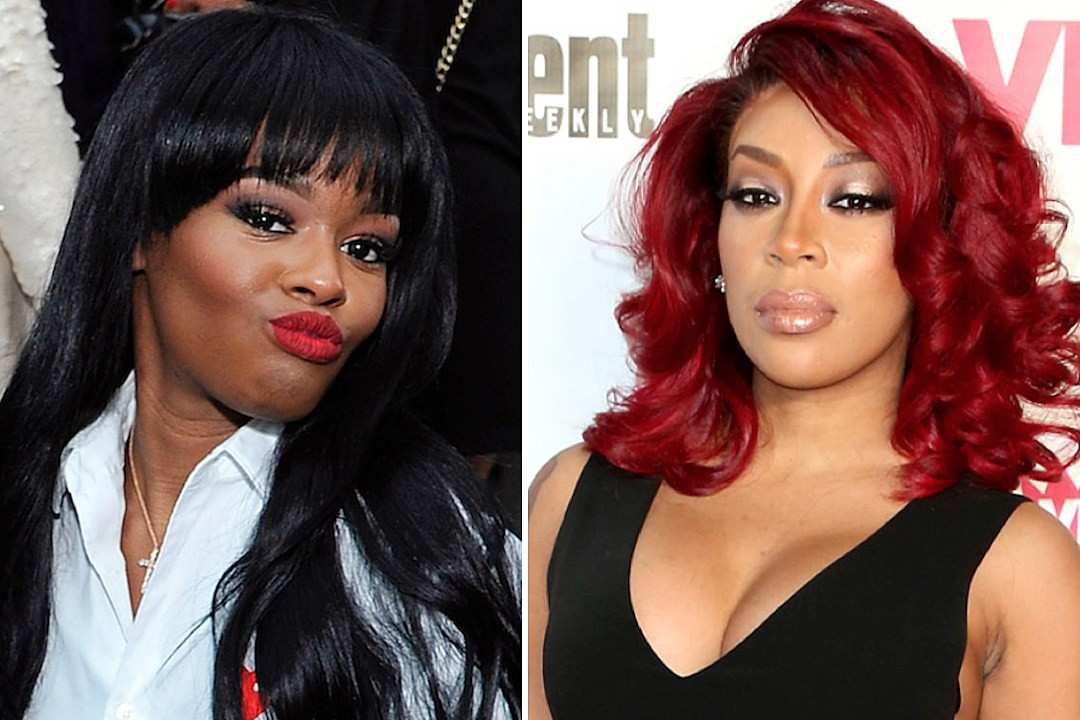 Azealia Banks blasts K Michelle again, accuses her of canceling their joint tour 'because her ass was rotting'