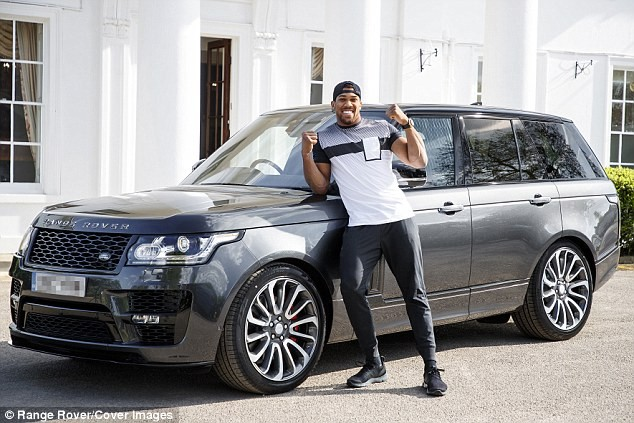 Anthony Joshua's 150k personalised Range Rover stolen in London days before heavyweight title fight