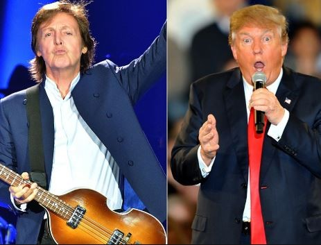Paul McCartney describes President Trump as a mad captain in new song
