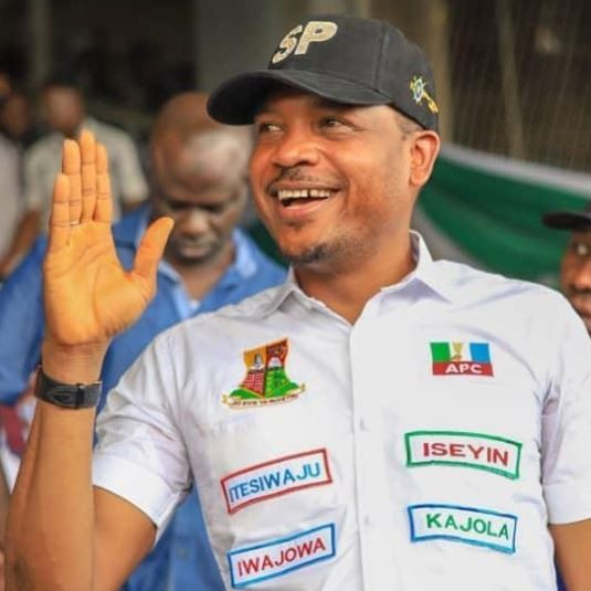 Shina Peller emerges APC candidate for the 2019 House of Representatives election to represent Iseyinfederal constituency