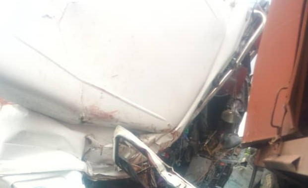 One dead, three injured as tanker and truck collide along Ijebu Ode/Benin Expressway