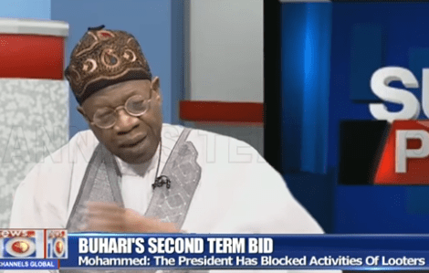 ''Buhari has performed exceptionally well, he deserves a second term in office'' Lai Mohammed