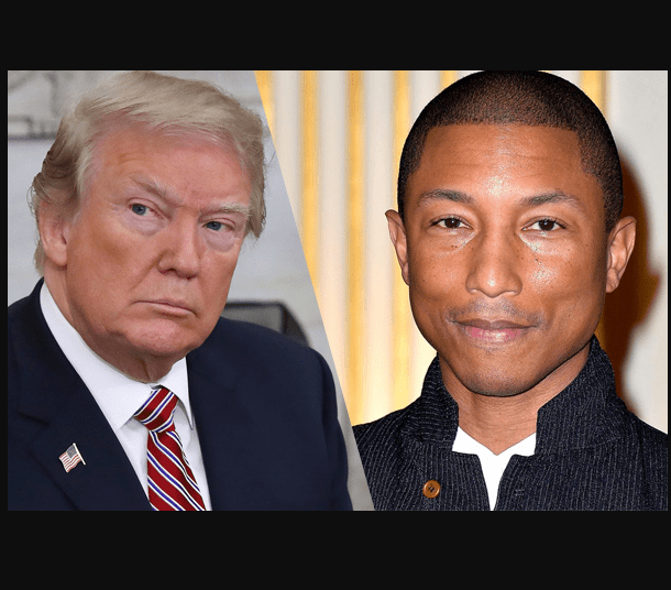 Pharrell Williams orders Donald Trump to stop playing his songs at rallies, slaps him with a cease-and-desist letter
