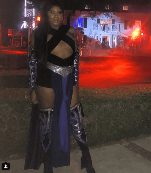Here is how Ej Johnson dressed for Halloween (Photos)