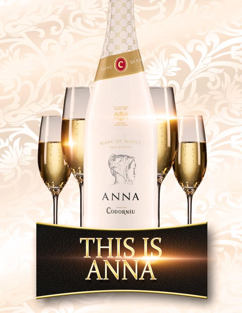 This is ANNA, the latest Champagne in town! ANNA is Spains best selling Champagne.