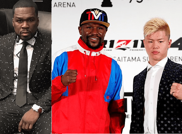 50 Cent shades Floyd Mayweather, 41,after he announced he'll be fighting a 20-year-old kick-boxer next