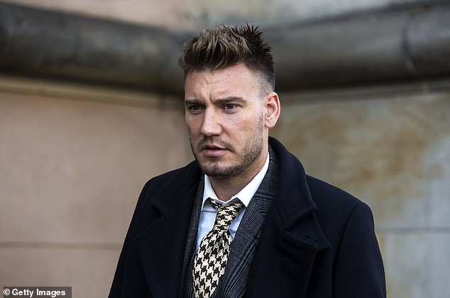 Ex-Arsenal striker, Nicklas Bendtner will now spend 50 days in jail after dropping his appeal for assault against taxi driver