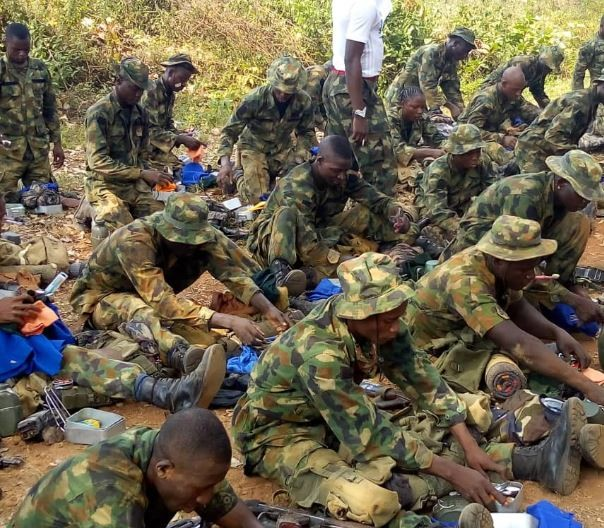 Dele Momodu, Ben Bruce, others react to viral video of Boko Haram killingNigerian soldiers