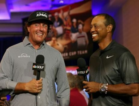 Golf legend, Tiger Woods loses $9m to Phil Mickelson in an exhibition match