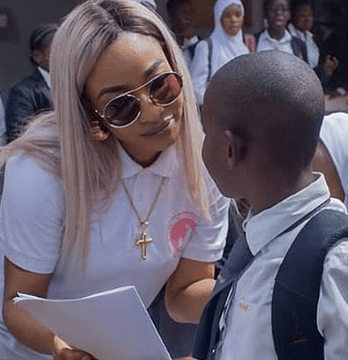 I will never allow my son call anyone who isn't family Uncle or Aunty- Tonto Dikeh