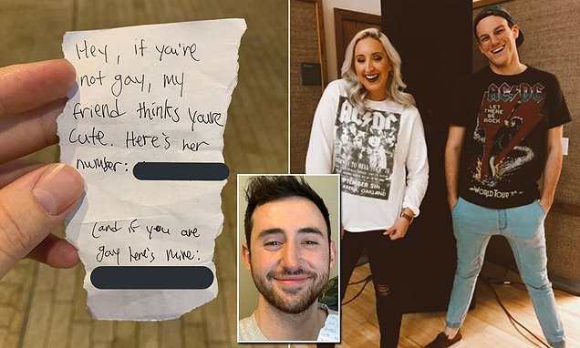 Man goes viral after sharing a note from two friends 'male and female' who both ask to date him and then finally reveals who he chose