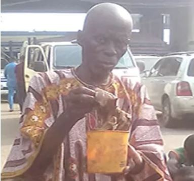 85-year-old herbalist arrested with fresh human heart in Lagos (Photo)