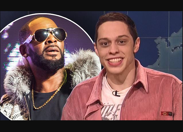 Pete Davidson calls R. Kelly, says the singer 'should get shot in the face' during comedy show in New York