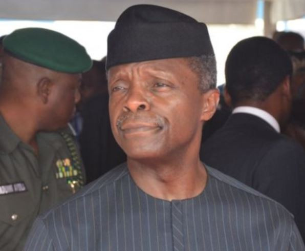 'We are safe and sound' - VP Osinbajo tweets after surviving helicopter crash