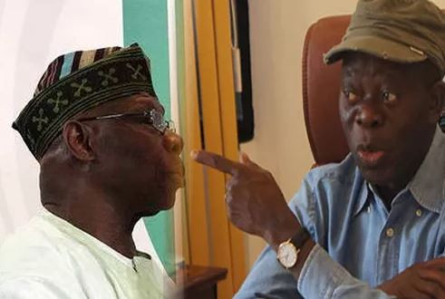 'I have pictures of Obasanjo using policemen to snatch ballot boxes' - AdamsOshiomhole