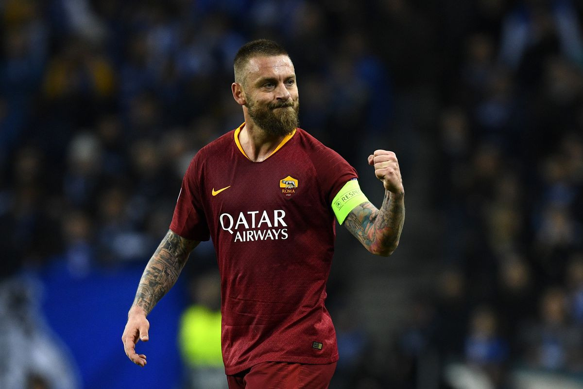 Legendary Italian footballer, Daniele De Rossi to leave AS Roma after 18 years with the club.