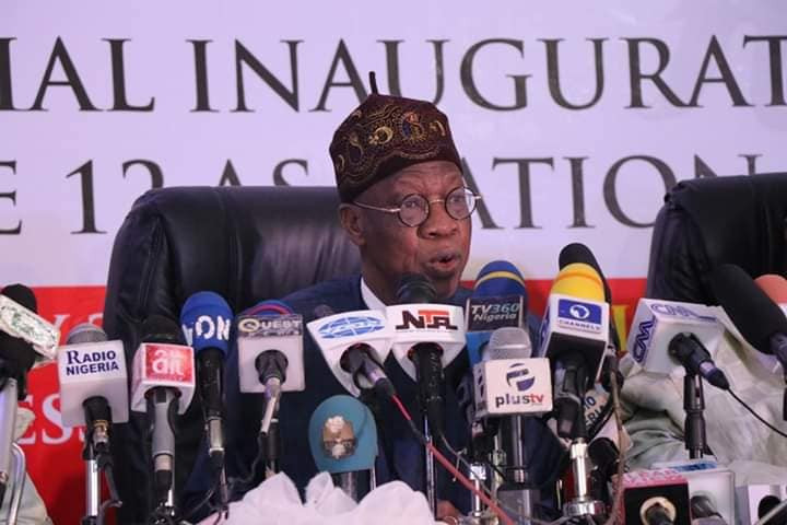 Minister of Information, Lai Mohammed reveals full details ofthe May 29th presidential inauguration and June 12th's Democracy Day