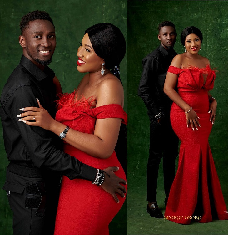 981bd980f2e Check out stunning pre-wedding photos of Super Eagles star Wilfred Ndidi  and his lover