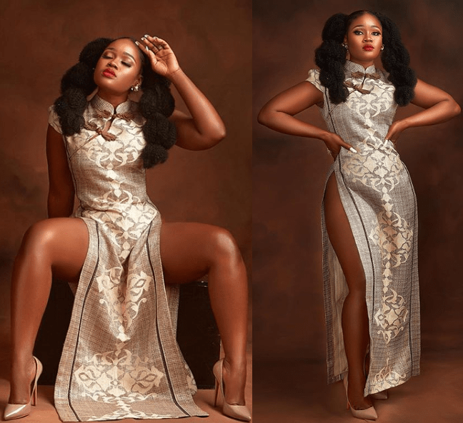 Cee-C dazzles in new glowing photos