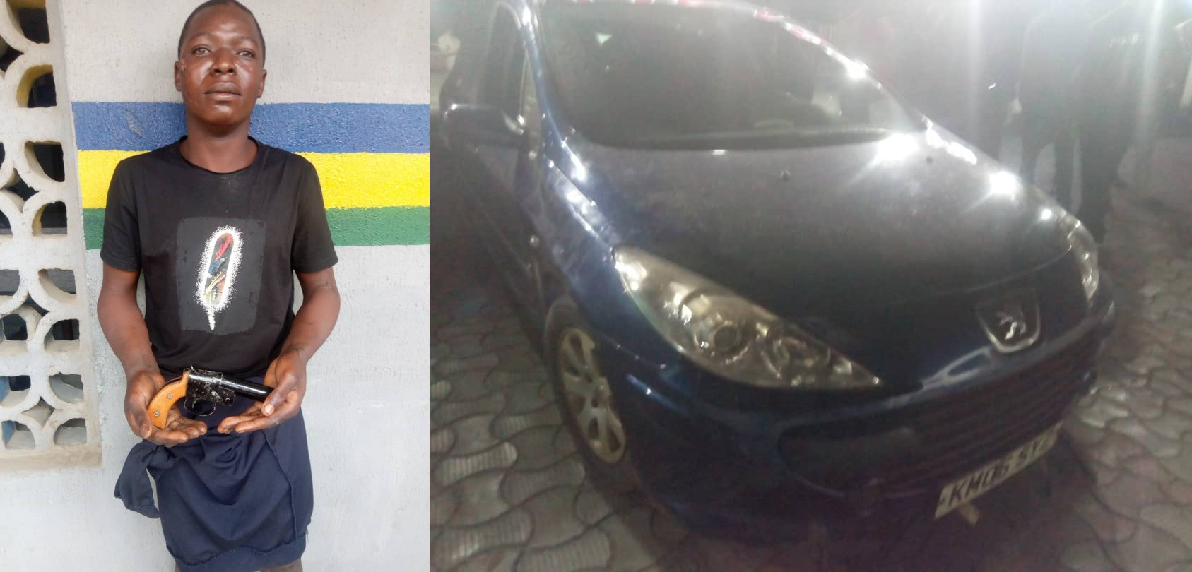 Car snatching ring leader arrested in Lagos (photos)