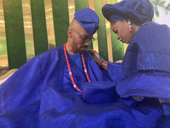 This beautiful couple met during NYSC