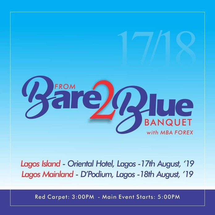 Attend The From Bare 2 Blue Banquetwith Mba Forex (See Details)