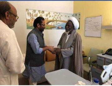 Indias Minister of Minority Affairs visit El-Zakzaky