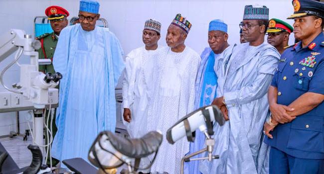 President Buhari commissions Air Force Hospital in Daura lindaikejisblog 5