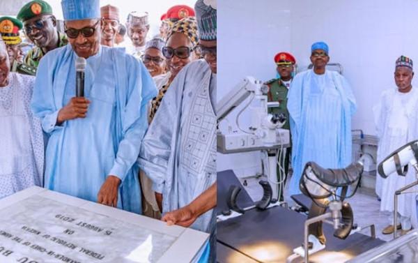 President Buhari commissions Air Force Hospital in Daura lindaikejisblog