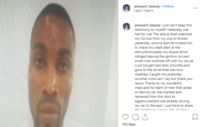 Pastor arrested after snatching Uber driver's car lindaikejisblog 1