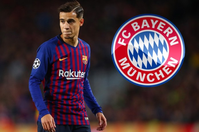 Philippe Coutinho agrees to join Bayern Munich on loan from Barcelona
