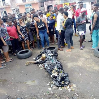 Decomposing body of unidentified woman found at a refuse site in Port Harcourt