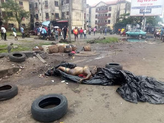 Decomposing body of unidentified woman found at a refuse site in Port Harcourt (graphic photos)