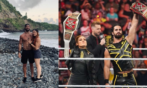 , WWE's Seth Rollins and Becky Lynch, engaged, All9ja