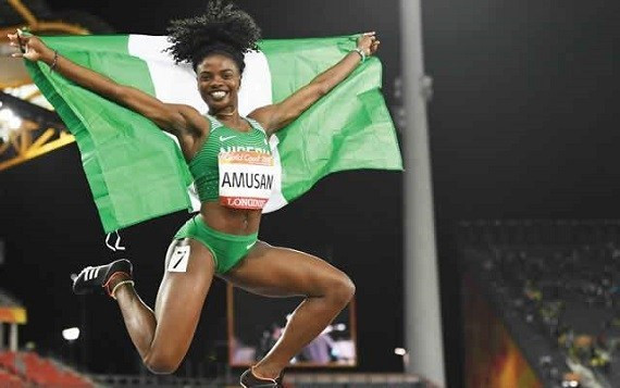 Image result for images of Tobi Amusan breaks 20-year-old record