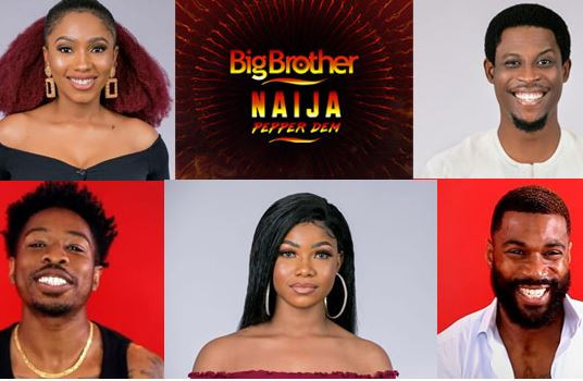 Image result for images of Top 5 Most Searched #BBNaija Housemates Release By Google