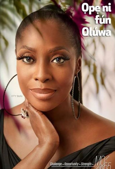 'I am truly filled with gratitude' - Mo Abudu shares new photos to celebrate her 55th birthday