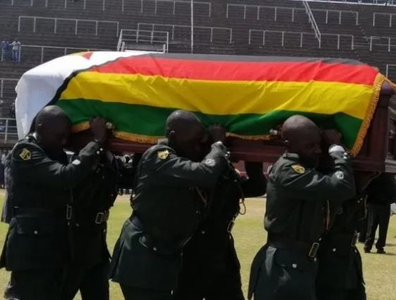 The final burial for Zimbabwes former president, Robert Mugabe, will be held at the National Heroes Acre sometime in October,