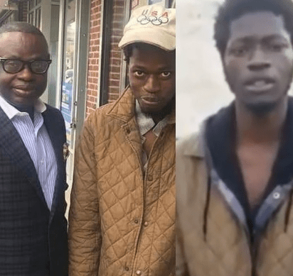 Video: Days after a video of him went viral, help comes for young Nigerian drug addict in the US
