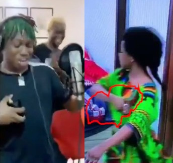 Naija IG history? Zlatan Ibile shares video of a yet to be released Tacha diss song and its gets over 100k comments on Instagram (video)