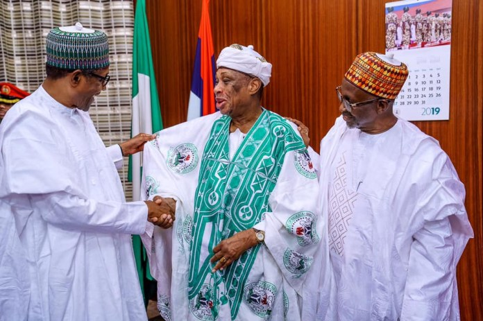 President Buhari hosts former ministers who served in his Military Administration from 1984 to 1985 (Photos)
