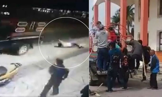 Protesters tie Mexican mayor to truck, drag him through the streets for failing to keep campaign promise lindaikejisblog