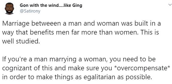 ''It was built to benefit men more than women'' - Nigerian Twitter user's description of marriage elicits debate